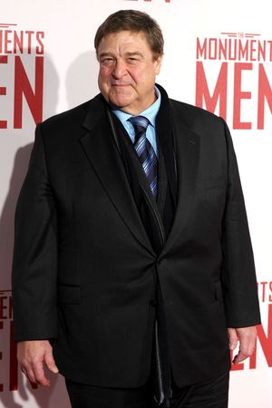 'The Monuments Men' film premiere, London, Britain - 11 Feb 2014 John Goodman