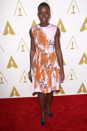 Lupita Nyong'o 86th Annual Academy Awards Nominee Luncheon, Los Angeles, America - 10 Feb 2014