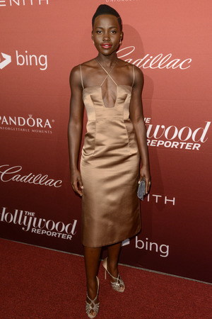 The Hollywood Reporter's 'Nominees Night' Dinner, Los Angeles, America - 10 Feb 2014 Lupita Nyong'o