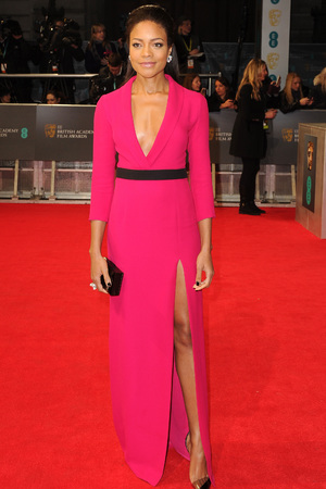 Naomie Harris, BAFTA 2014, Red Carpet