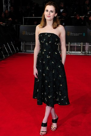 Laura Carmichael , BAFTA 2014, Red Carpet