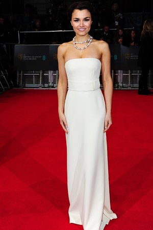 Samantha Barks , BAFTA 2014, Red Carpet