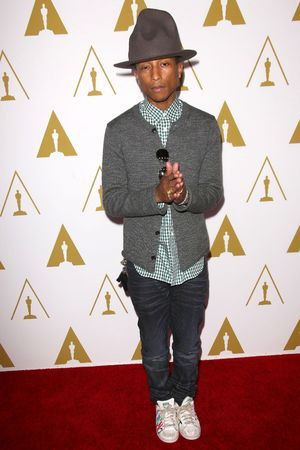Pharrell Williams 86th Annual Academy Awards Nominee Luncheon, Los Angeles, America - 10 Feb 2014