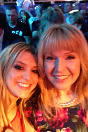 Splash! final and wrap party: Anna with Toyah Willcox