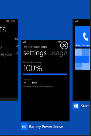 Windows Phone 8.1 screenshot