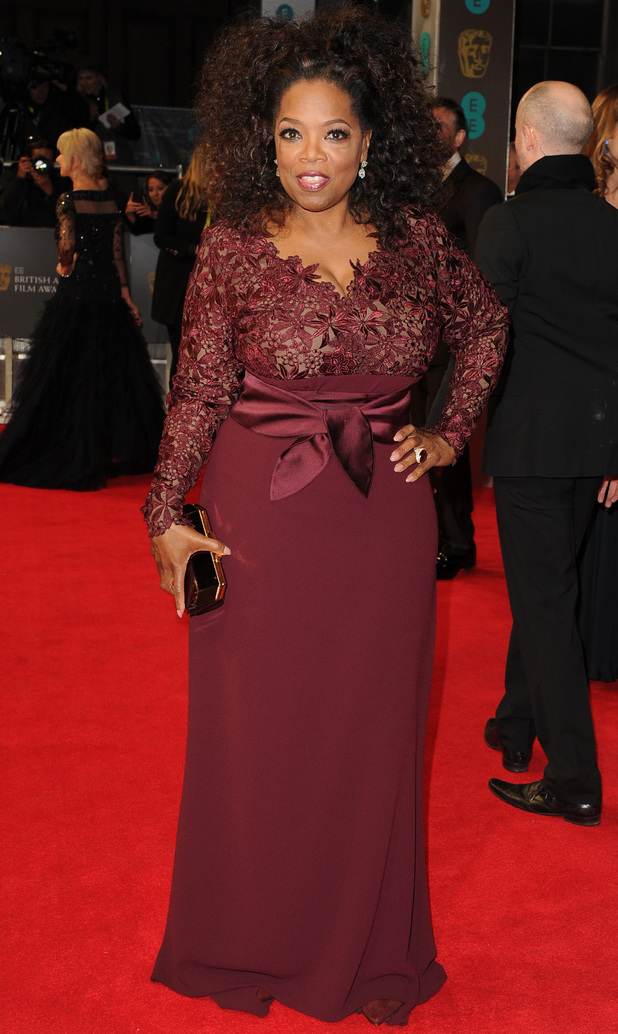 Oprah Winfrey - BAFTAS 2014: Red carpet - Digital Spy