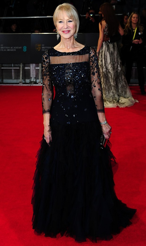 Dame Helen Mirren, BAFTA 2014, Red Carpet