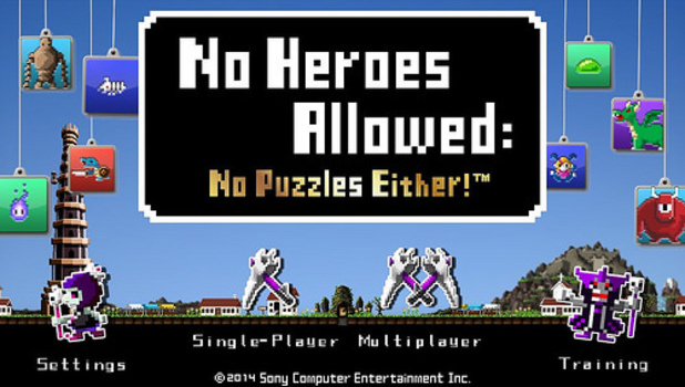 No Heroes Allowed: No Puzzles Either
