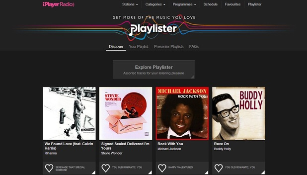 BBC Playlister's Valentine's Day mix
