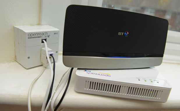 BT Openreach broadband router