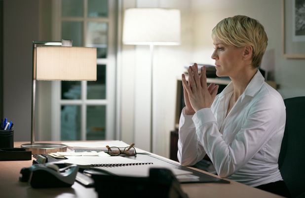 Robin Wright in House of Cards season 2