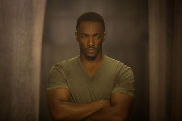 Anthony Mackie in Captain America: The Winter Soldier