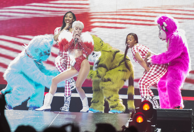 Miley Cyrus Bangerz Tour