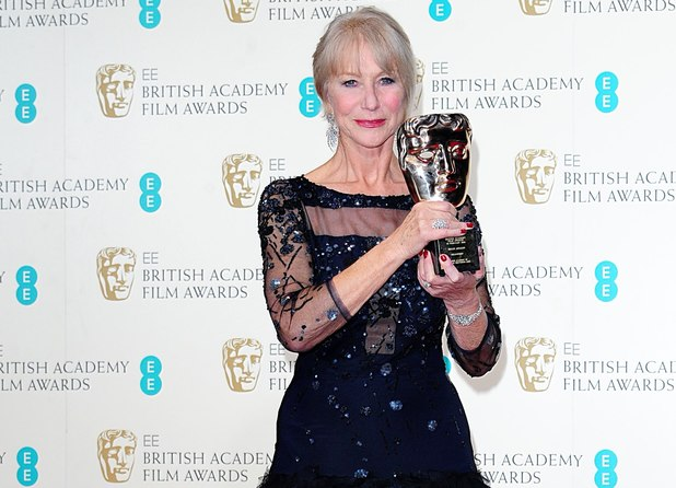 Dame Helen Mirren, BAFTAs 2014,