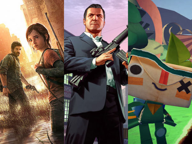 BAFTA Games nominations: The Last Of US, GTA V, Tearaway