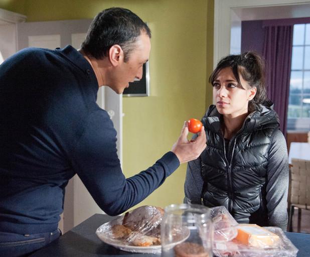 Jai orders Priya to eat