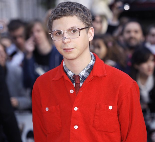 Canadian actor Michael Cera arrives for the premiere for the film 'Scott Pilgrim Vs The World', at a central London cinema, Wednesday, Aug. 18, 2010