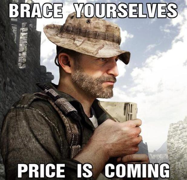 Captain Price teaser for Call of Duty: Ghosts