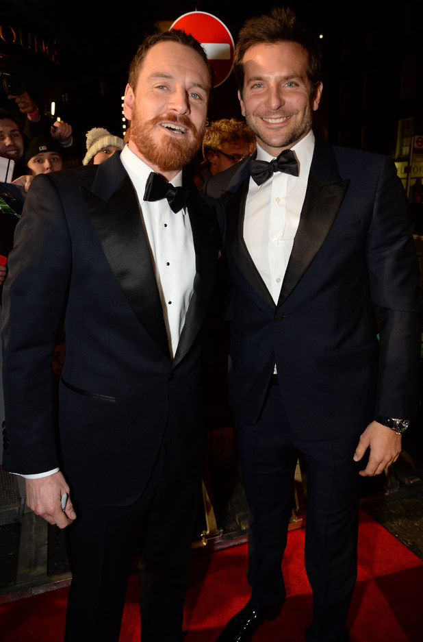 Michael Fassbender and Bradley Cooper