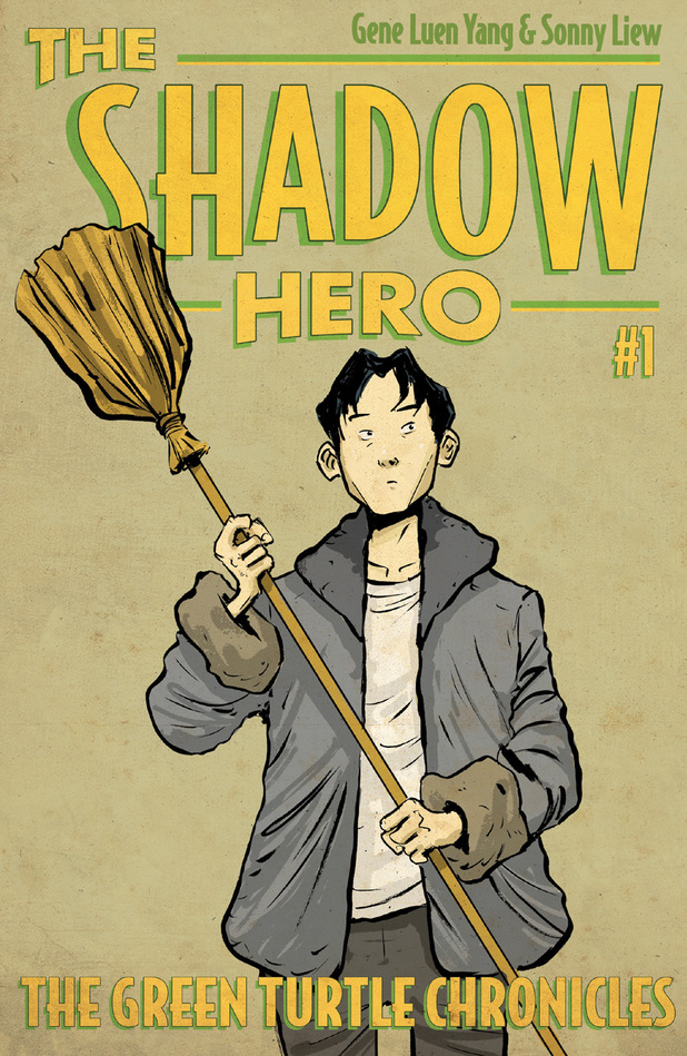 Shadow Hero serial #1 'The Green Turtle Chronicles'