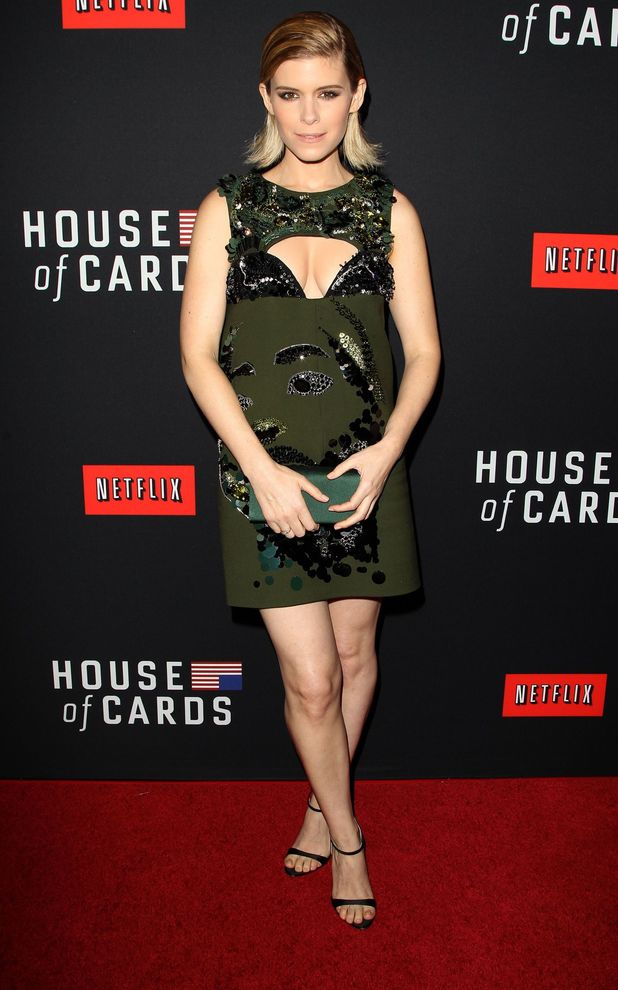 'House of Cards' Season 2 TV programme screening, New York, America - 13 Feb 2014 Kate Mara