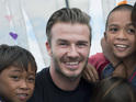UNICEF Goodwill Ambassador David Beckham in video appeal to help children.