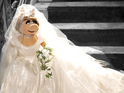 Vivienne Westwood designs Miss Piggy's white dress for Muppets Most Wanted.