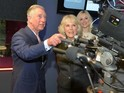 The royal couple visit the BBC's New Broadcasting House to celebrate British radio.