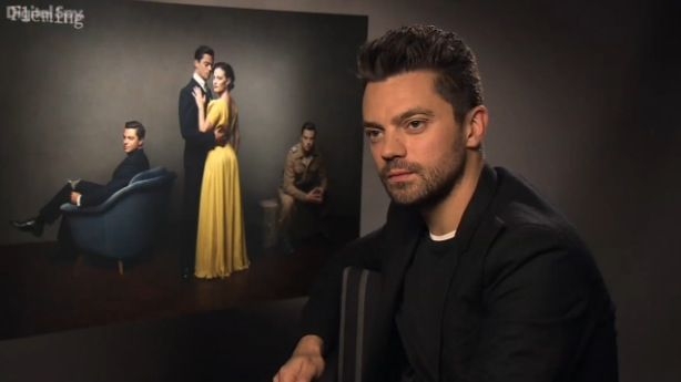 Dominic Cooper talks 'Fleming'