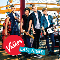 The Vamps 'Last Night' single artwork.
