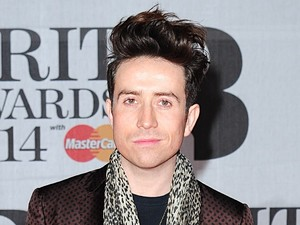 Nick Grimshaw arriving for the 2014 Brit Awards at the O2 Arena, London.