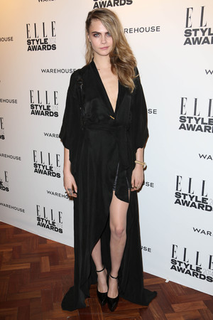 Cara Delevingne Elle Style Awards, London, Britain - 18 Feb 2014