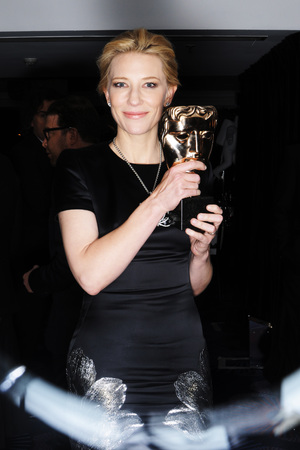 EE British Academy Film Awards, Selfie Booth, Royal Opera House, London, Britain - 16 Feb 2014 Cate Blanchett