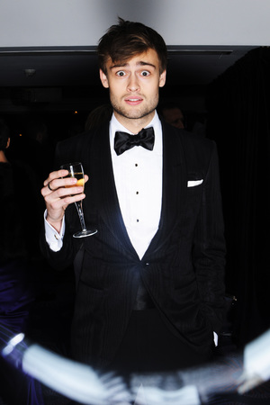 EE British Academy Film Awards, Selfie Booth, Royal Opera House, London, Britain - 16 Feb 2014 Douglas Booth