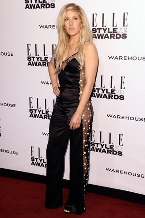 Elle Style Awards, London, Britain - 18 Feb 2014 Ellie Goulding