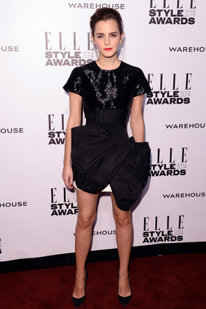 Elle Style Awards, London, Britain - 18 Feb 2014 Emma Watson
