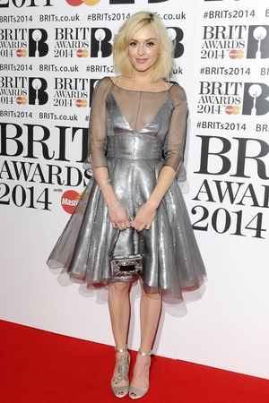 The Brit Awards, Arrivals, O2 Arena, London, Britain - 19 Feb 2014 Fearne Cotton