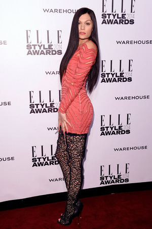 Jessie J Elle Style Awards, London, Britain - 18 Feb 2014