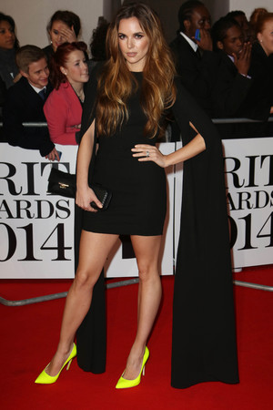 The Brit Awards, Arrivals, O2 Arena, London, Britain - 19 Feb 2014 Jodi Albert