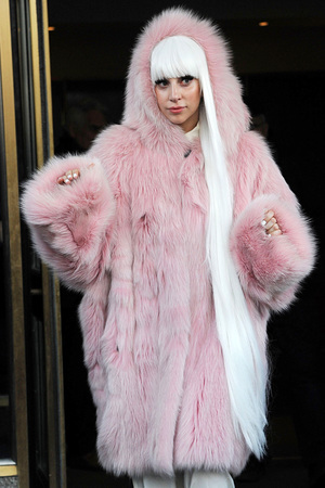 Lady Gaga 'The Tonight Show with Jimmy Fallon' TV Programme, New York, America - 18 Feb 2014