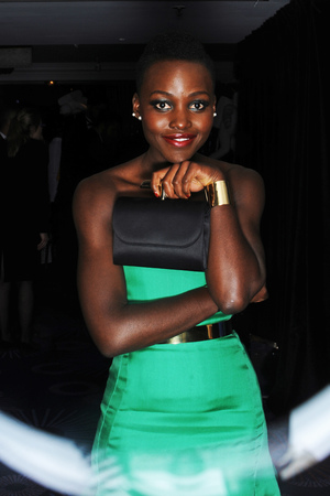 EE British Academy Film Awards, Selfie Booth, Royal Opera House, London, Britain - 16 Feb 2014 Lupita Nyong'o