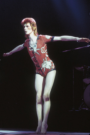 David Bowie at the Hammersmith Odeon, 1973
