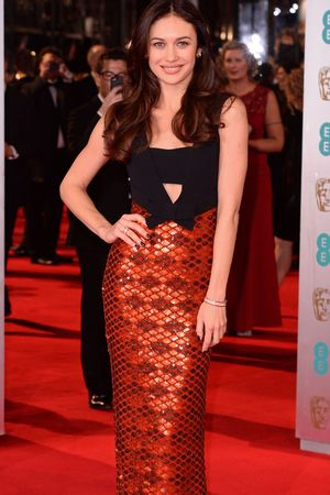 EE British Academy Film Awards, Arrivals, Royal Opera House, London, Britain - 16 Feb 2014 Olga Kurylenko