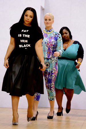 Plus size fashion show 2014