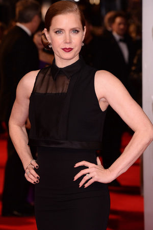 Amy Adams at the EE British Academy Film Awards