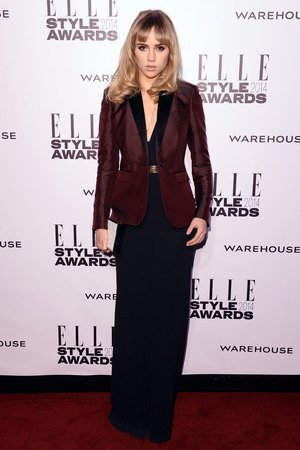 Elle Style Awards, London, Britain - 18 Feb 2014 Suki Waterhouse