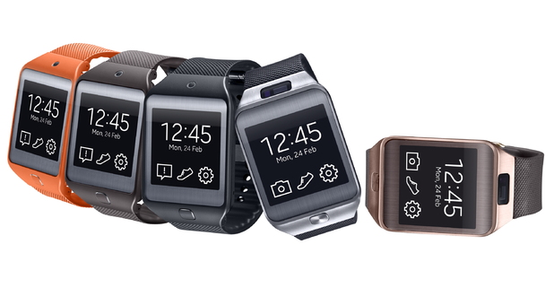 Samsung Gear 2 and Gear 2 Neo variants