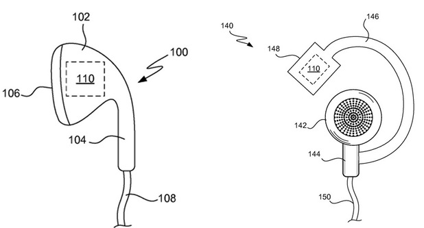 Apple patent for sensor-packed health monitoring headphones