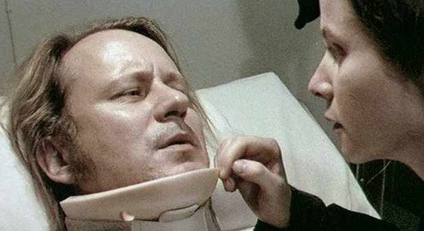 Stellan Skarsgård and Emily Watson in Breaking the Waves