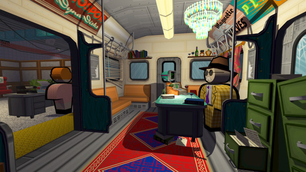 Jazzpunk is a comedy set in an alternate reality Cold War